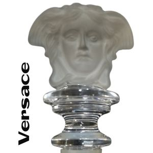 Versace Crystal Medusa Wine Bottle Stopper